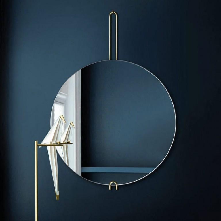 Espejo Redondo De Diseño Hoko