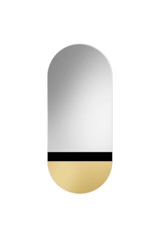 Espejo Decorativo Moderno Fusion Gold