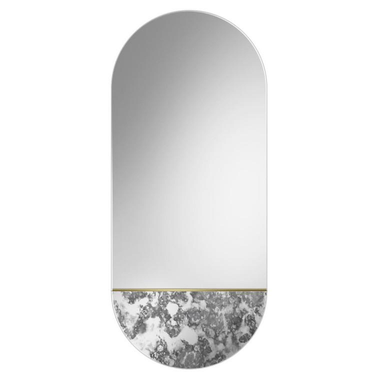 Espejo Ovalado Decorativo Novi Corrosi