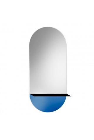 Espejo Decorativo Novi Shelf Blue