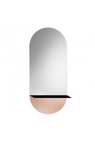 Espejo Decorativo Novi Shelf Copper