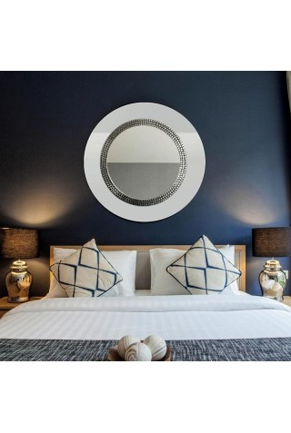 Espejo Redondo Decorativo Art Deco