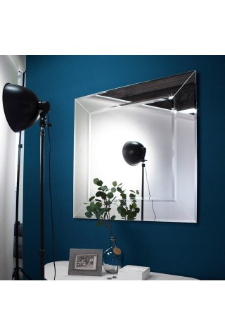 Espejo Decorativo Marco De Cristal