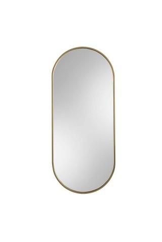 Espejo Minimalista Ambient Slim Dorado