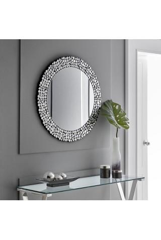 Espejo Decorativo Redonto Cristales Biselados GRACE