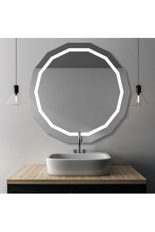 Espejo De Baño Modeno Con Luz Plutón