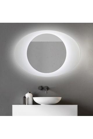 Espejo Ovalado Con Luz Para Baño Koren
