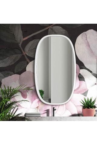 Espejo Moderno Minimalista Blanco Dolio