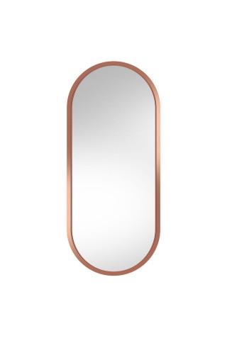 Espejo Ovalado De Pared Ambient Cobre
