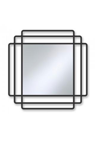 Espejo Decorativo Moderno Contour Black